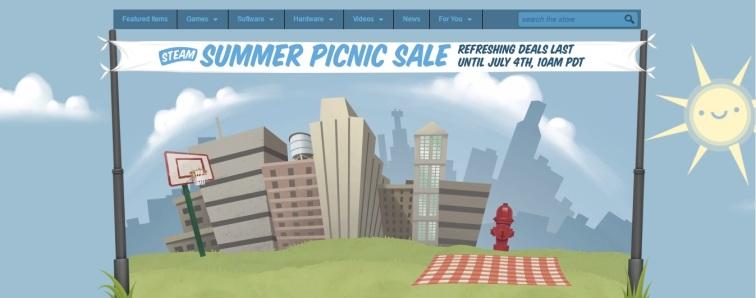 steam summer picnic