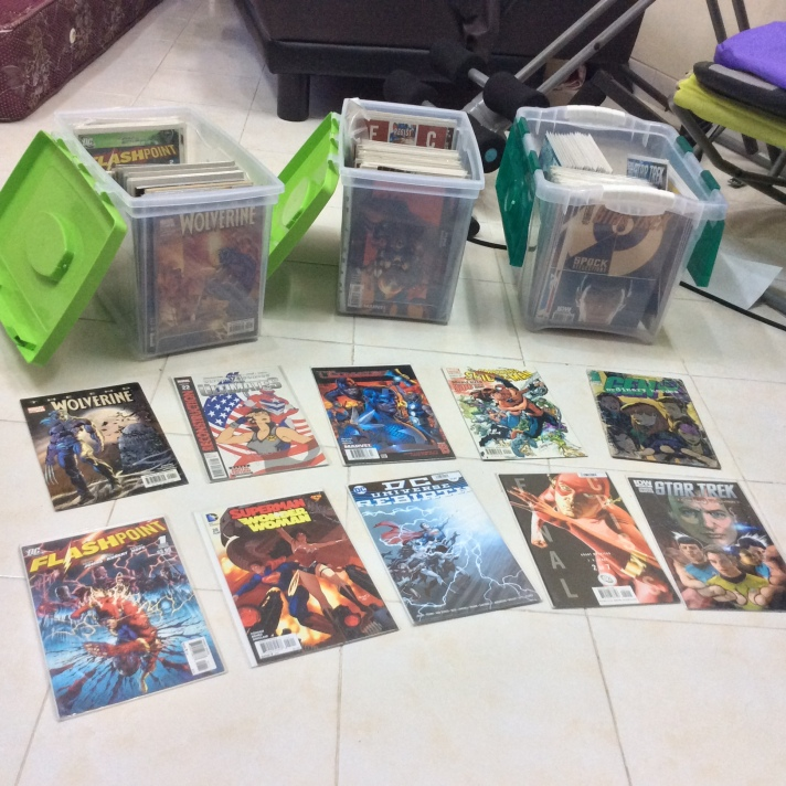 Comic collection 2016 08 04