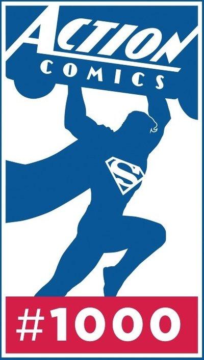 Action Comics 1000 logo